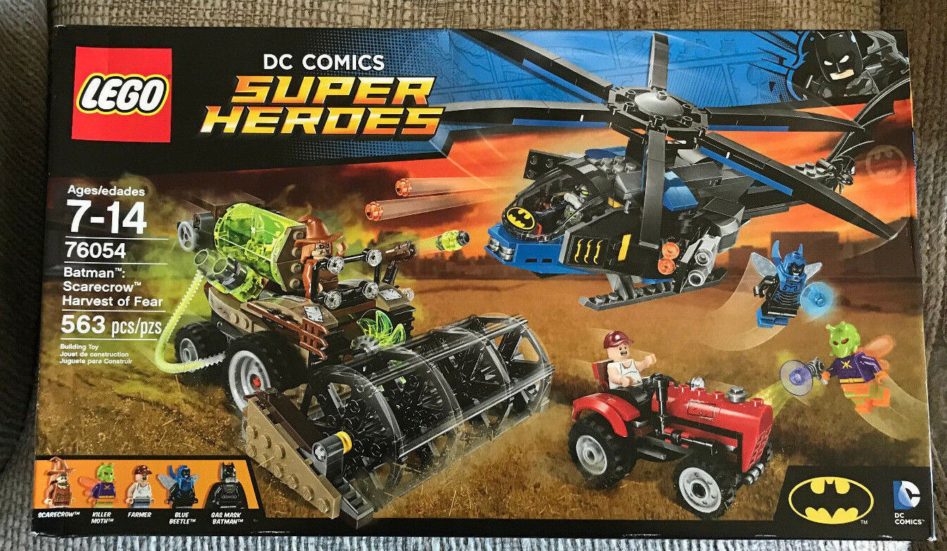 LEGO SUPER HEROES BATMAN 76054 SCARECROW HARVEST OF FEAR NEW 563 PIECES