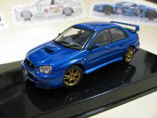1/43 AUTOart Subaru Impreza WRX STI (2003) turning wheels diecast