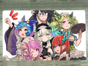 Custom TCG CCG Mat Madolche Trading Card Game Mat Yugioh Playmat Anime Yu-Gi-Oh