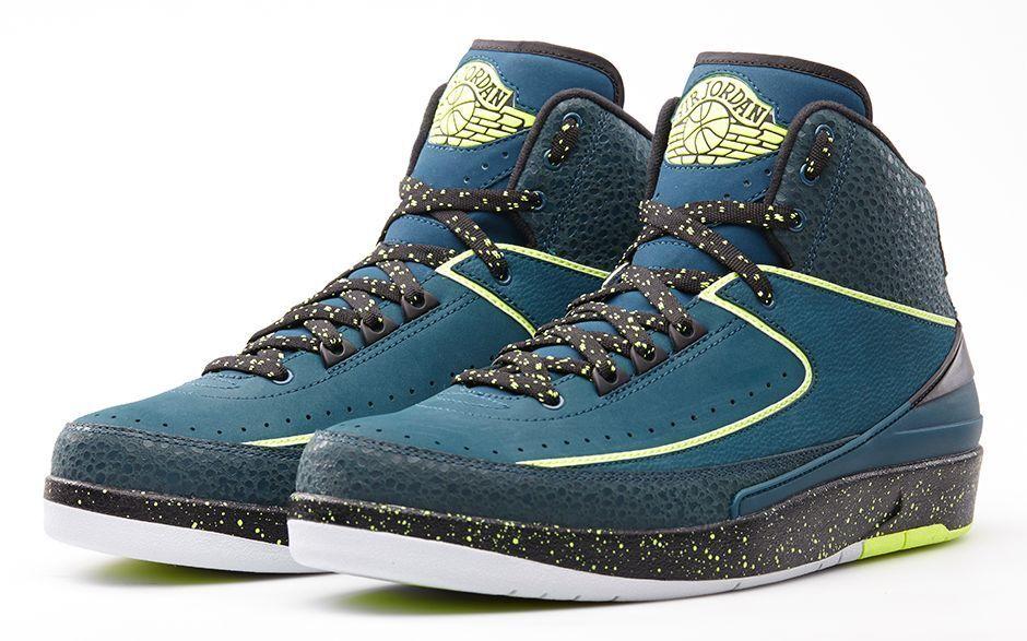 Nike Air Jordan 2 II Retro Nightshade Size 12.5. 385475-303 1 3 4 5 6 12 13