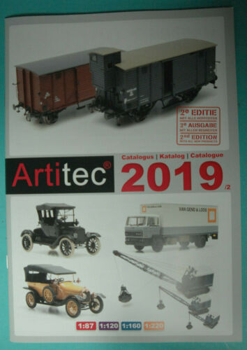 Artitec 012 Katalog 2019 2nd Zivilmodelle  NEU