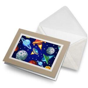 Greetings-Card-Biege-Cool-Space-Planets-Saturn-2842