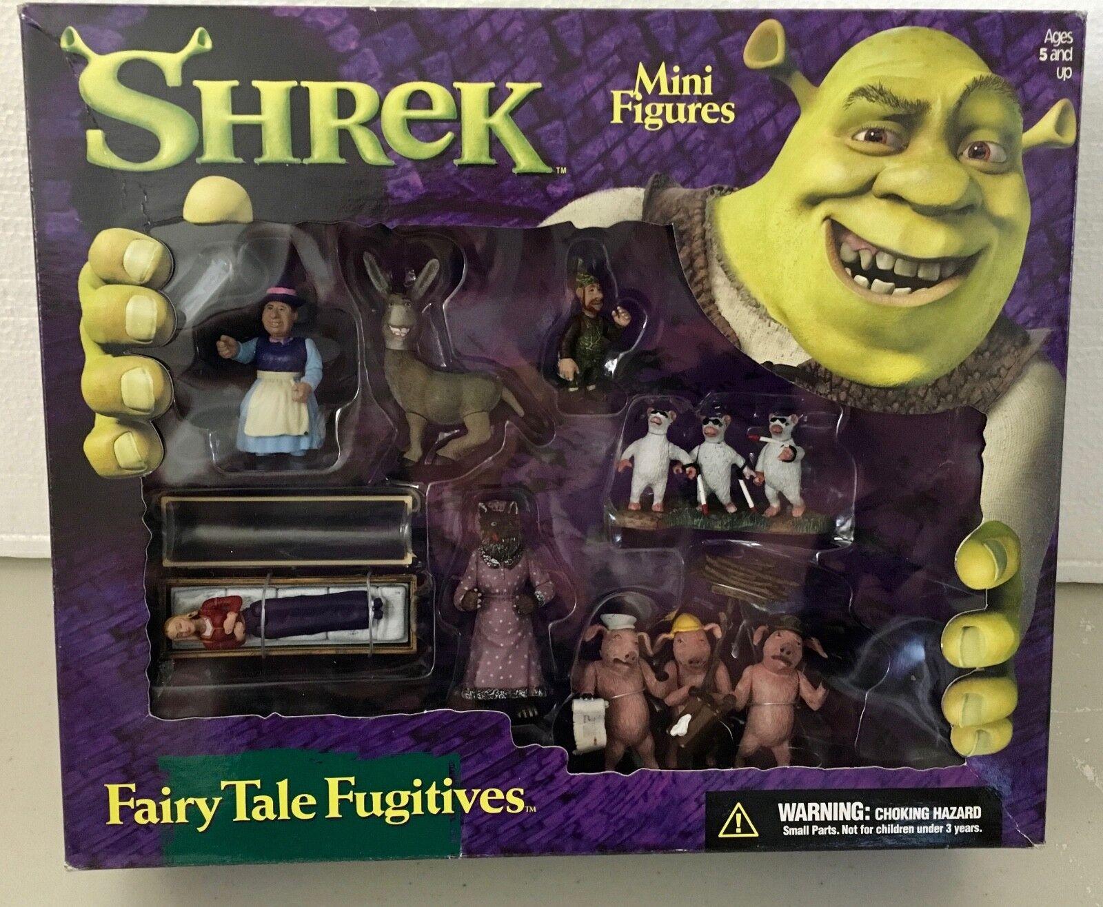 Shrek Mini Figures - Fairy Tale Fugitives - New