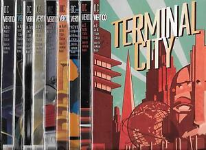 TERMINAL CITY #1-#9 SET (NM-) DC VERTIGO, DEAN MOTTER