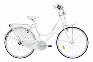 Fahrrad urban style ATALA COLLEGE 26 Damen city Fahrrad aus Spaziergang weiß Elektrofahrräder