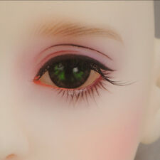 1//4 BJD cat eyes MSD  16mm OMeta Half Round Acrylic Eyes Red CE-04