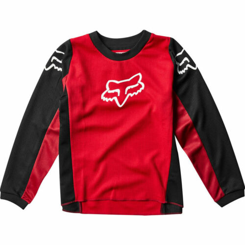 Fox Racing 2020 Kids 180 Prix Jersey Flame Red Motocross MX Off Road 23966-122