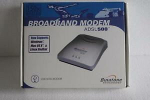 NEW DRIVERS: BINATONE ADSL 500 MODEM