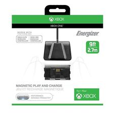 Xbox One Microsoft Licensed Energizer Play and Charge Cable and Battery (New)