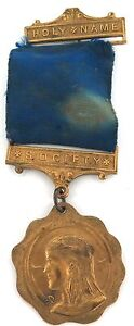 VINTAGE-HNS-HOLY-NAME-SOCIETY-LARGE-MEDAL