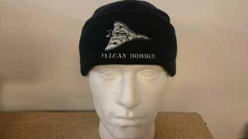 RAF ROYAL AIR FORCE AVRO VULCAN BOMBER KNITTED HAT
