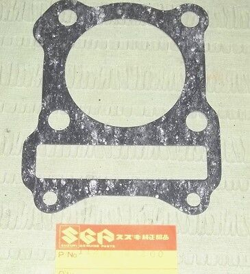 NOS Genuine Suzuki Cylinder Base Gasket Set Of 2 DR125 GN125 SP125 ALT125 SP100