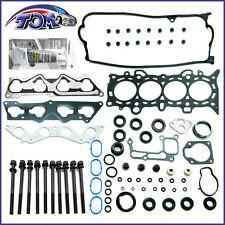 BRAND NEW 01-05 1.7L HONDA CIVIC DX LX VTEC D17A1 HEAD GASKET SET + HEAD BOLTS