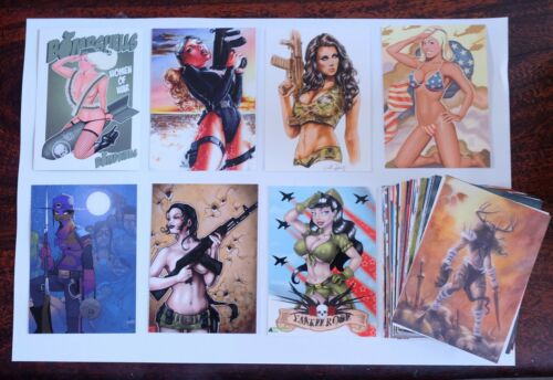 VINTAGE /& RARE ART//FANTASY ART//PIN-UP LEGENDS VAMPIRELLA RED SONIA TRADING CARDS