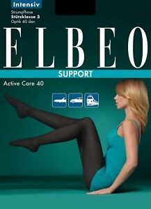Humorous Elbeo Support Collant De Contention Intensive 40den Women's Clothing Taille 1/2/3/4/5