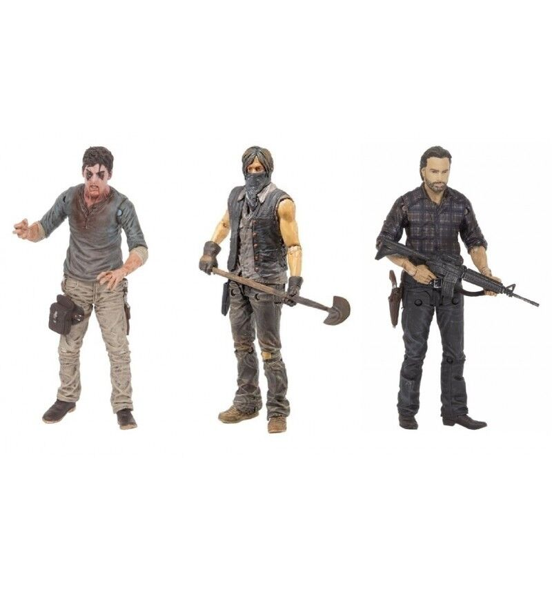 McFarlane Walking Dead TV Serie 7.5 - Set Complet