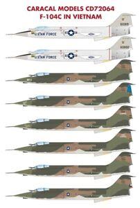 Caracal-Models-1-72-Lockheed-F-104C-Starfighter-in-Vietnam-72064
