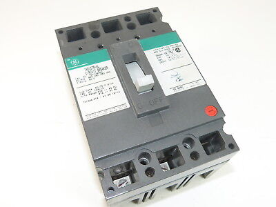 New GE TED134060 Circuit Breaker 60A 3 P 480V
