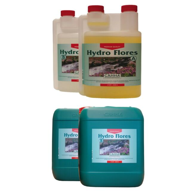 Canna Hydro Flores 10 Litre Hard Water Plus Choose Your Own Free Gift