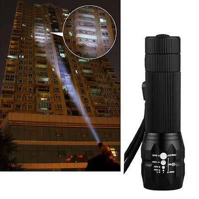 Q5 15W 480LM LED-Mini-Taschenlampe Einstellbarer Fokus Zoom-Licht-Lampe 1Pc
