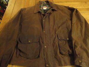 Vintage Australian Outback Jacket Oiled Waxed Coat Rain