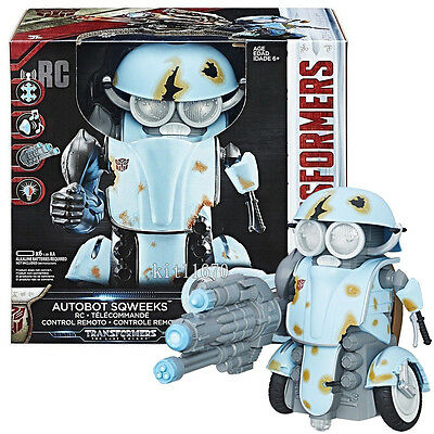 Hasbro Transformers MV5 Last Knight RC Remote Control Autobot Sqweeks NEW