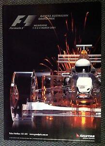 FORMULA-ONE-ORIGINAL-POSTER-AUSTRALIA-2001-Schumacher-Win