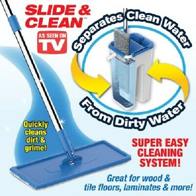 Insta Mop Slide Amp Clean The Revolutionary Cleaning