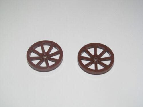 Lego ® Roue Charrette Charrue Chevalier Castle Wheels Spoked Choose Model