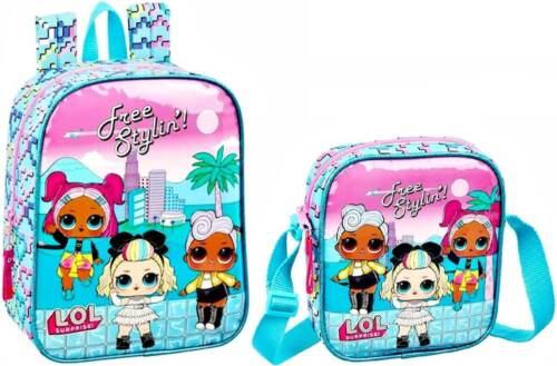 L.O.L Surprise Mini Rucksack Schultertasche Kinderrucksack Tasche Backpack LOL