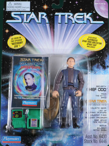 "Star Trek Security Chief Odo /""Necessary Evil/"" Playmates 4.5/"" Action Figure"