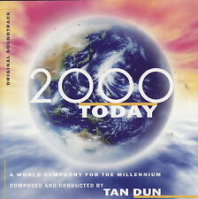 Tan Dun: 2000 Today - A World Symphony for the Millennium  (CD, 1999 Sony) PBS!