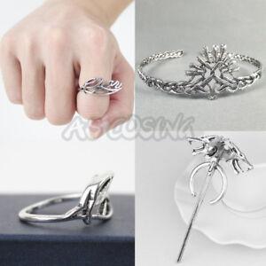 Game Of Thrones Season 7 Cersei Lannister Crown Daenerys Targaryen Ring Brooch Ebay