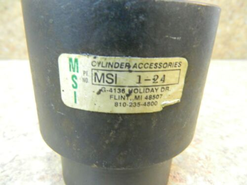 """Details about  /Self aligning rod coupler  floating joint  1-1//2/""""-12  threads   MSI  1-24"""