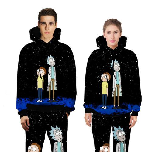 Joggers Cartoon 3d Tracksuit Women Hoodie Galaxy Sweatshirt New Outfit Men's H6EqxP