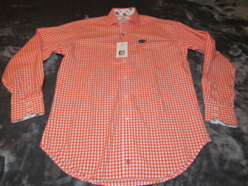 Floride Nouveau Dean Medium OrangeWhite Ls shirt Nwt taille Thomas Hommes Gators rQCeWdBox