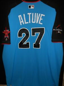 newest b4c2c a5c3d Details about JOSE ALTUVE SIGNED 2017 ALL STAR JERSEY AUTHENTIC MAJESTIC  -HOUSTON ASTROS-RARE!