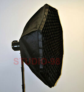 48 In Octagon Softbox Grid Speedring For Alienbees
