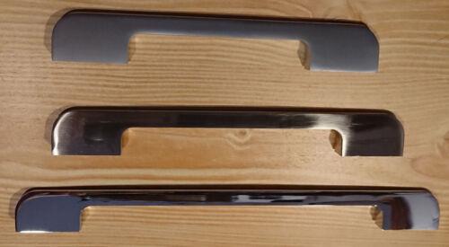 Slimline Porte De Cuisine Armoire Armoire Tiroir Poignées Inox en acier brossé U071