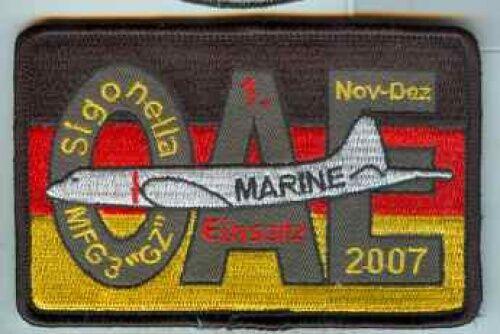 Bundesmarine:Verbandsabz:MFG 3 Graf Zeppelin.OAE Nov.Dez 2007