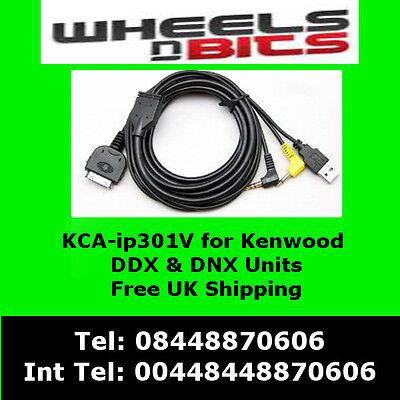 Amichevole Kca-ip301v Ipod Iphone Adattatore Di Interfaccia Per Kenwood Dnx5260bt Per Migliorare La Circolazione Sanguigna