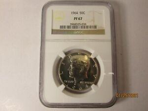 Beautiful-1964-Kennedy-NGC-Pr67-Half-Dollar