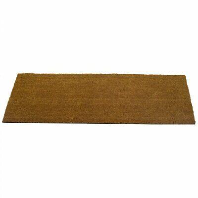 Natural Coir PVC Backed Doormat Conservertry Door Mat 120cm x 45cm