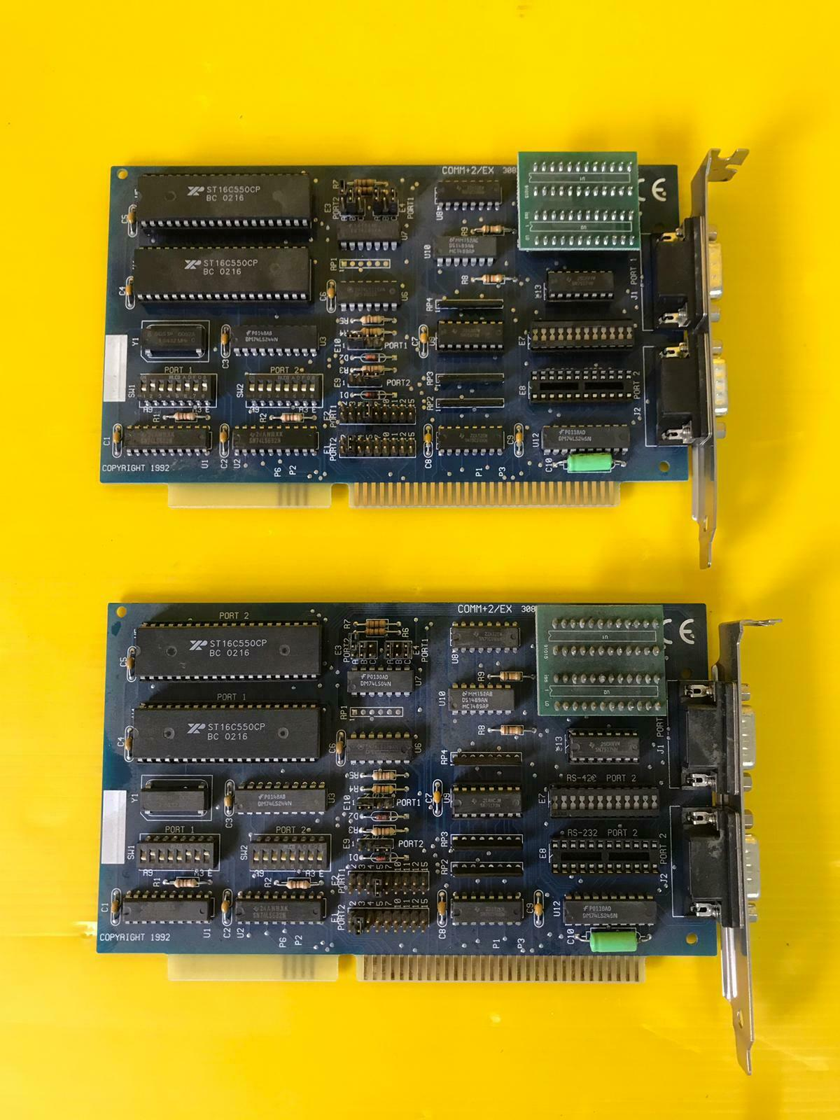 2pcs KONTRON SPRT2B AT Advanced Multi-Channel Interface Andserial Card
