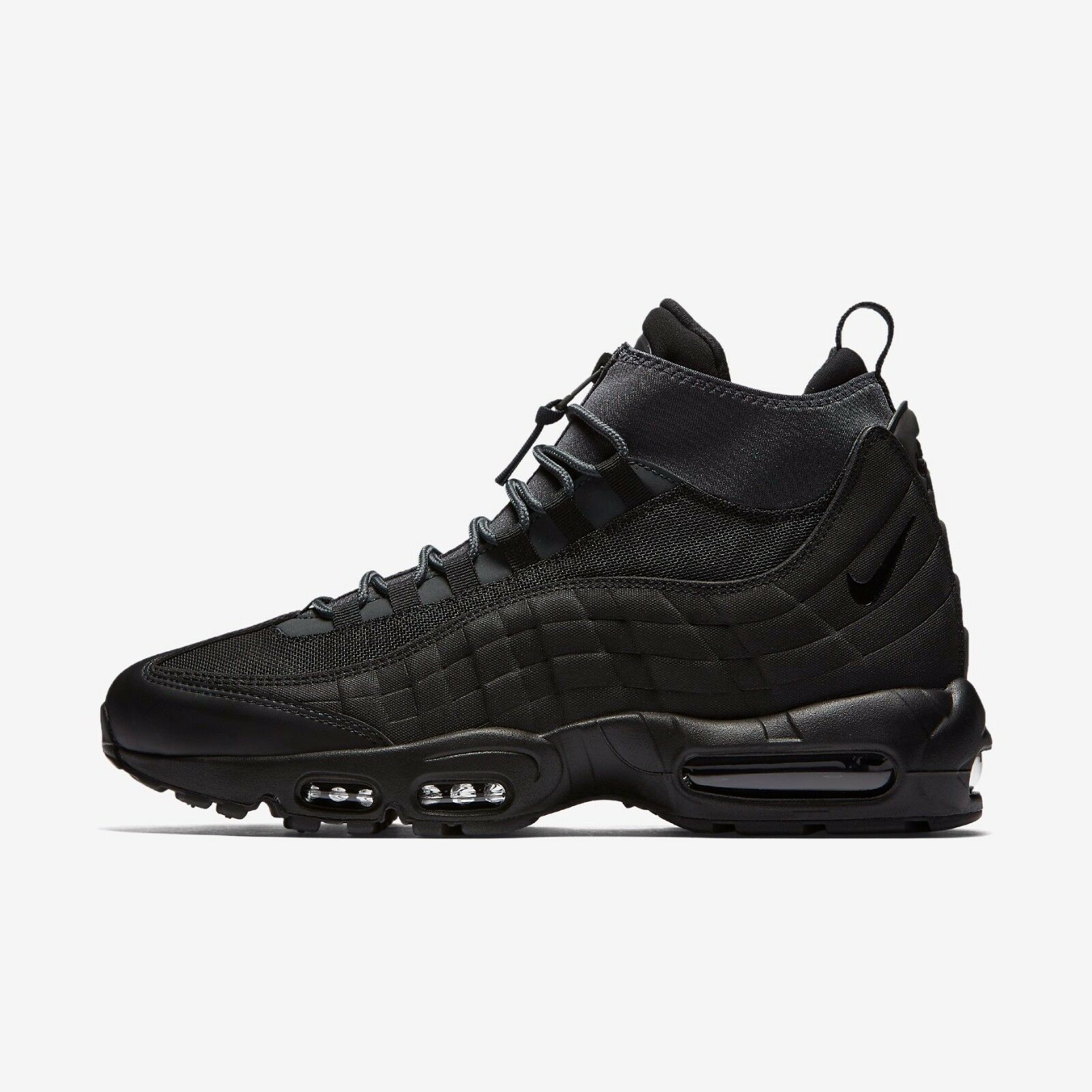 NIKE AIR MAX 95 SNEAKERBOOT 806809-001 BLACK BLACK ANTHRACITE WHITE
