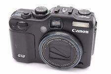 Canon PowerShot G12 10MP 2.8''Screen 5x Zoom Digital Camera