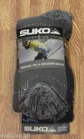 2 Pr Mens Suko Sport Comfort Ski Socks Blue/gray-l