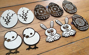 Wooden-Easter-decoration-for-crafts-ornaments-gift-tags-engraved-shapes