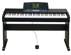 Piano-digital-electrico-kobrat-83-contrapesado-nuevo-y-garantizado-con-banqueta