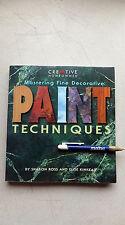 Mastering Fine Decorative Paint Techniques, Sharon Ross & Elise Kinkead, 271 pgs